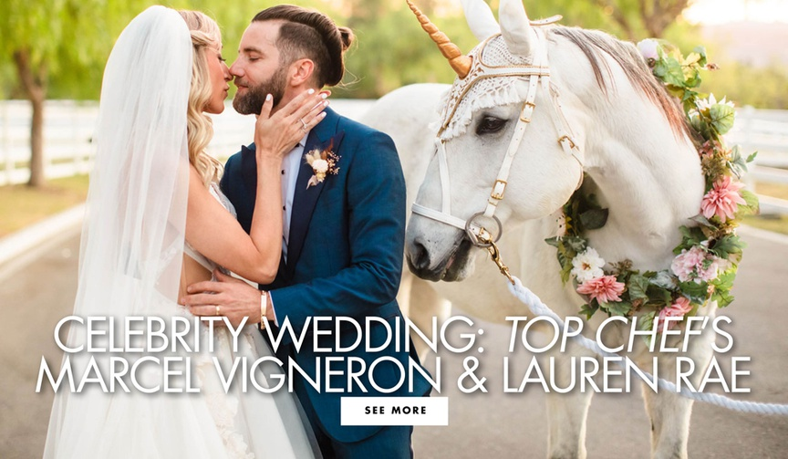 celebrity real wedding marcel vigneron from top chef and celebrity stylist lauren rae levy