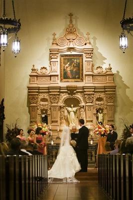 Brophy Chapel Catholic Wedding Ceremony