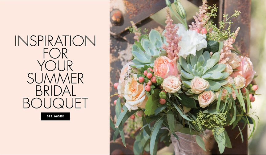 summer wedding bouquet inspiration bridal flowers bright sunny floral arrangements