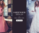 Sareh Nouri Spring 2018 wedding dress collection bridal gowns inspired by New York City