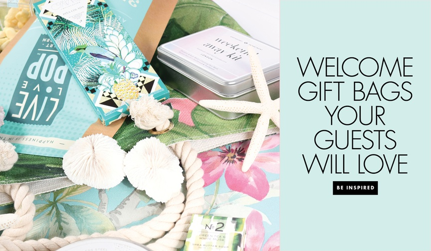 The Welcome Bag Committee tips from Jordan Payne Events wedding welcome bags