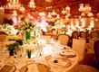 Rustic wooden beams and flea market centerpieces