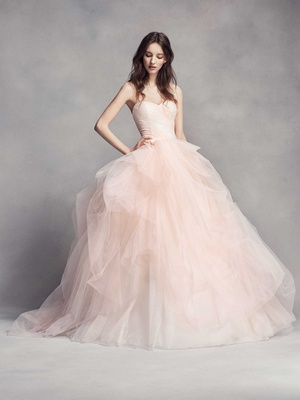 Classic Wedding Dresses with Modern Details by White by Vera Wang ...