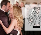 First dance songs from real couples first dance song ideas