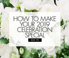How to make your 2019 wedding special and memorable tips trends from Mindy Weiss