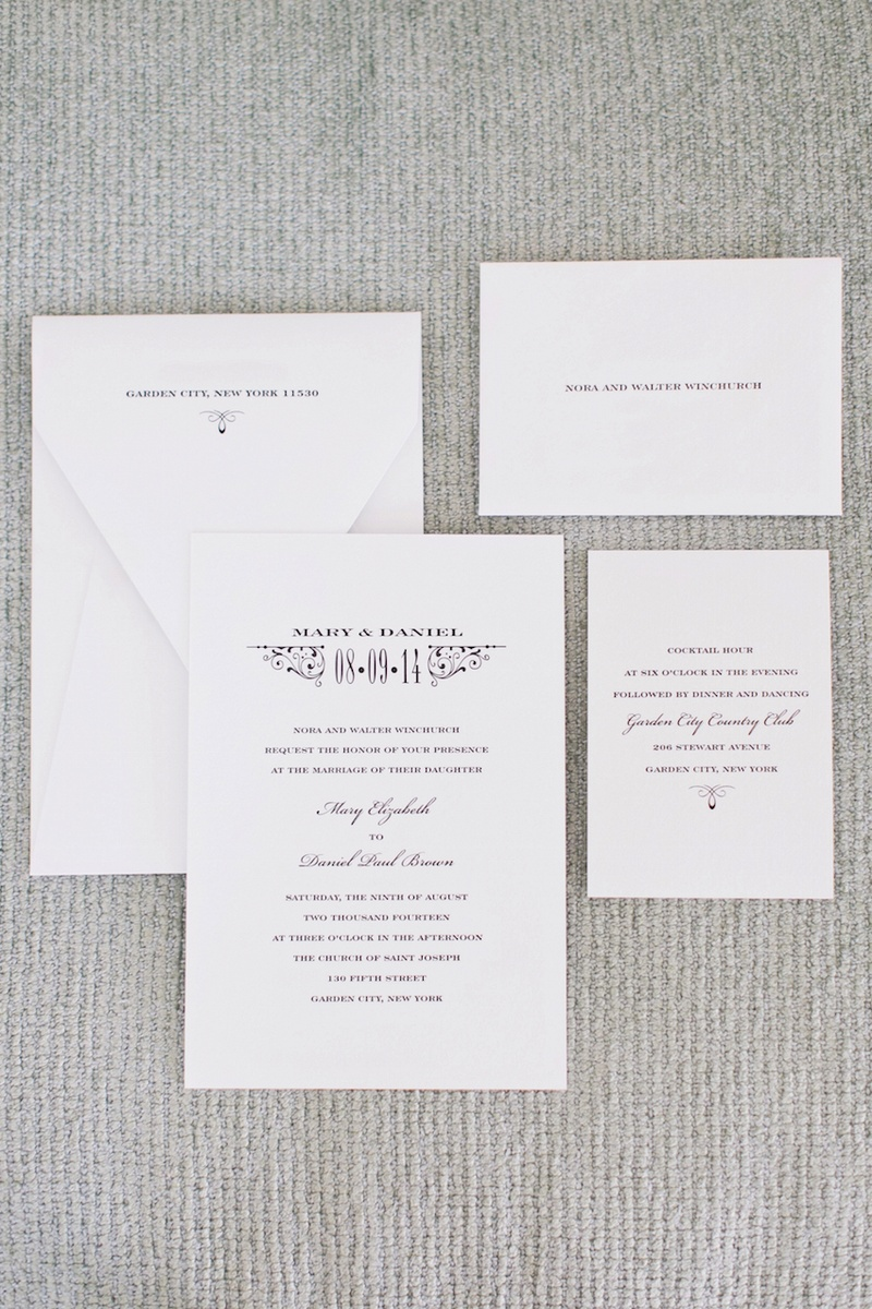 Invitations & More Photos - Simple & Sophisticated Invitation Suite ...