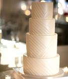 clean simple 4 four tier wedding cake white southern california wedding dessert lines designs