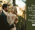 singer pop artist kylie hughes celebrity wedding engagement party shoot love patrick barraza details