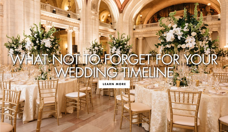 what not to forget for your wedding timeline how to make the big day go smoothly