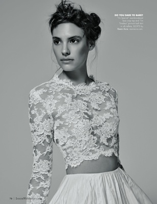 Wedding Dresses Black Amp White Fashion Editorial Inside