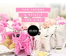 Fun kids tables for wedding receptions