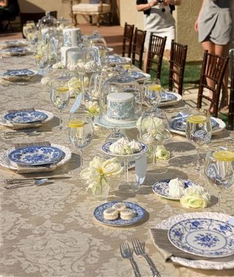 Tablescape for brunch with Paris inspiration
