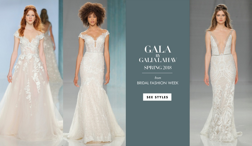 GALA Galia Lahav Spring 2018 collection dresses wedding gowns designer beading unique