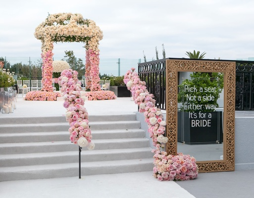 Gorgeous Wedding Ceremonies: Gorgeous Rooftop Wedding Ceremony & Reception In West