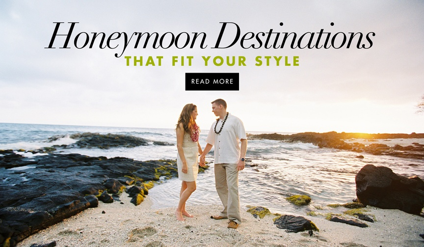 A guide to choosing the best location for your post-wedding honeymoon vacation.