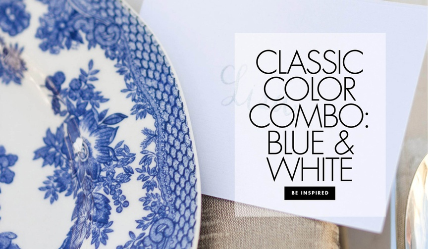 Be inspired by wedding décor inspired by blue-and-white chinoiserie!