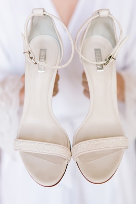 schutz bridal shoes, bridal heels, bridal sandals, ivory sparkly ankle strap