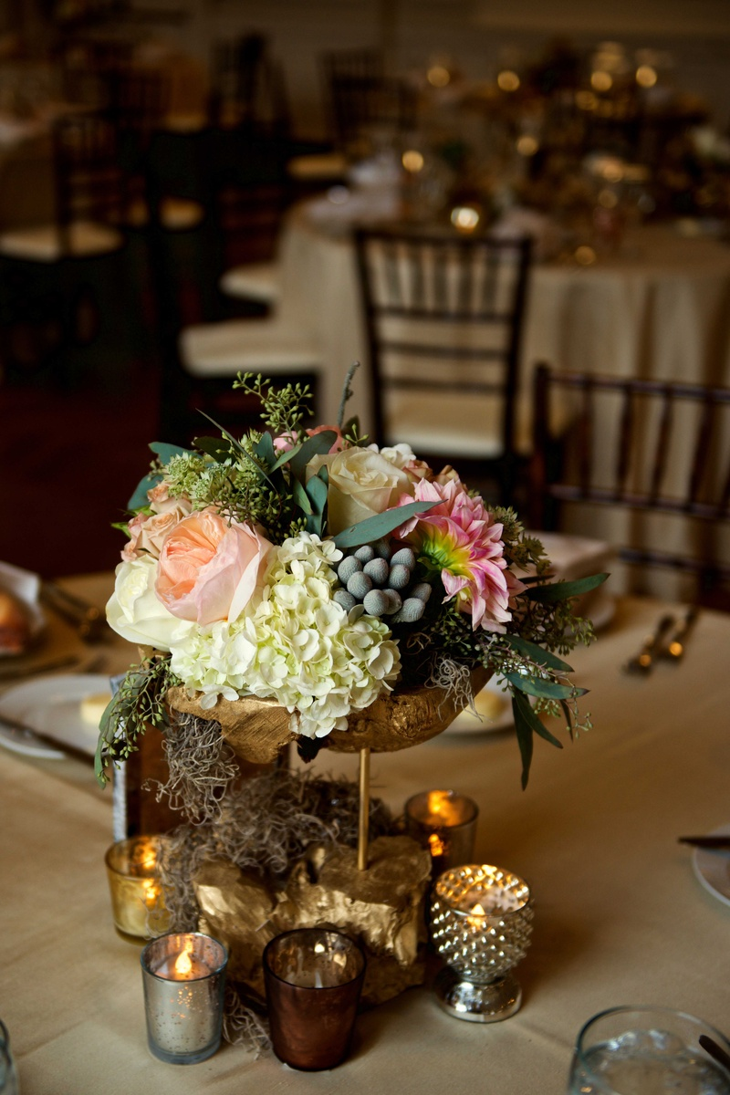 reception d233cor photos ivory green amp pink rustic