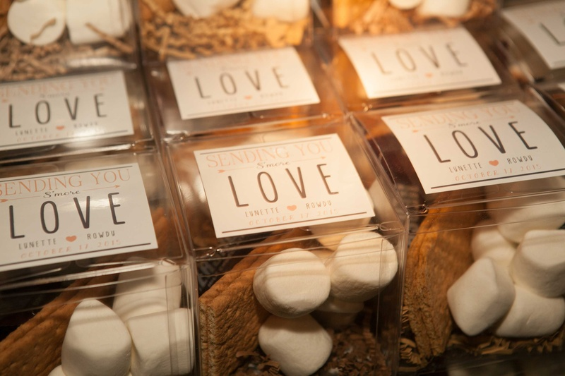 Favors Gifts Photos Smores Wedding Favors Inside Weddings