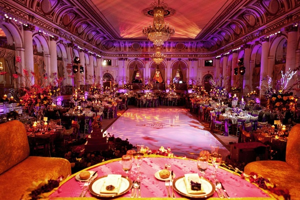 Beautiful cultural indian wedding in new york city inside weddings the plaza indian wedding reception in new york junglespirit Choice Image