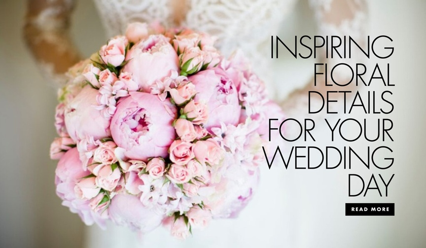 How to create a wow factor with flowers on your wedding day