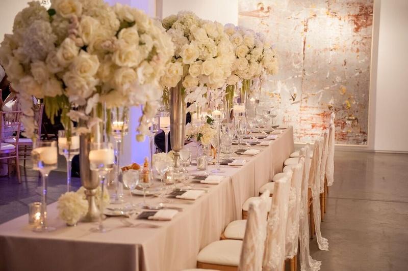 Loft Wedding Decor