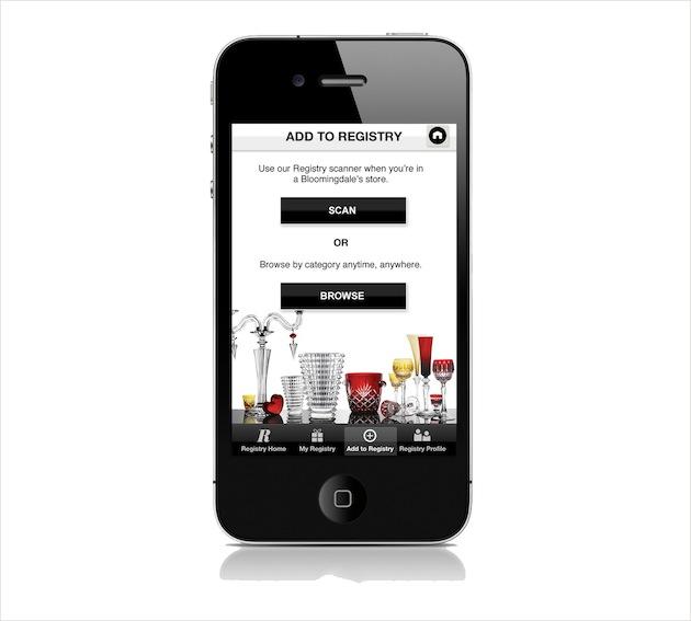 Wedding Registry Apps: Bloomingdale's Wedding Registry, Bloomingdale's Big Brown