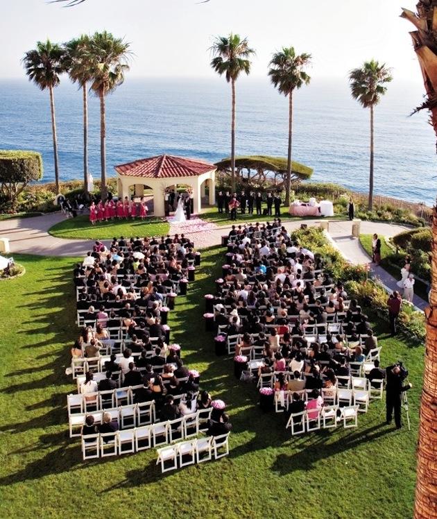 Unique Outdoor Wedding Ceremony Ideas: Ceremony Seating Ideas