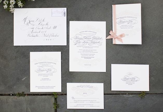 Wedding Invitations Wedding Stationery Suites Inside Weddings