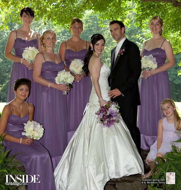 a93a26f9286 Chic Shades of Purple for Stylish Bridesmaids
