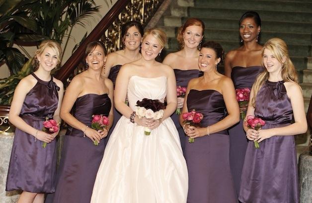 7d4659055e9 Purple Bridesmaid Dresses - Inside Weddings