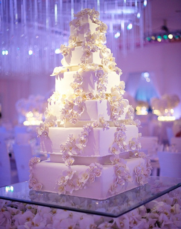Square Wedding Cakes - Cake Ideas