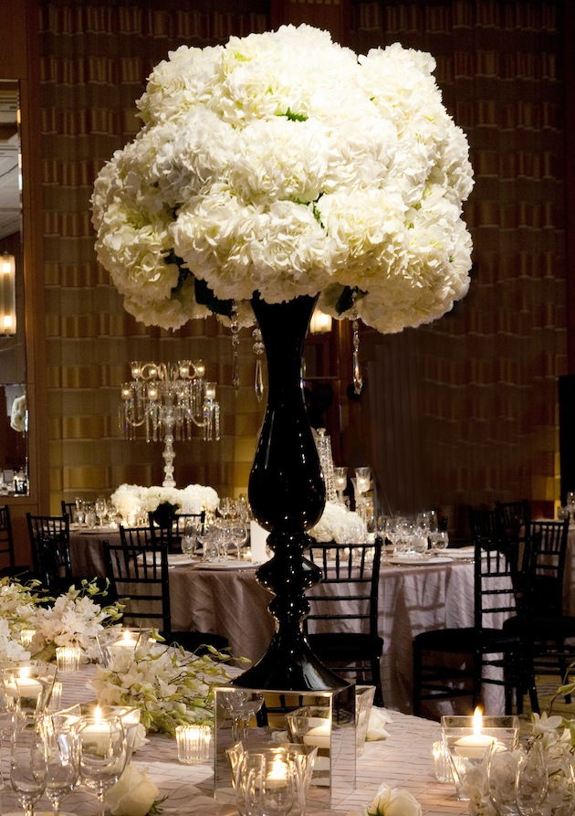 White wedding centerpieces wedding flowers inside weddings mightylinksfo