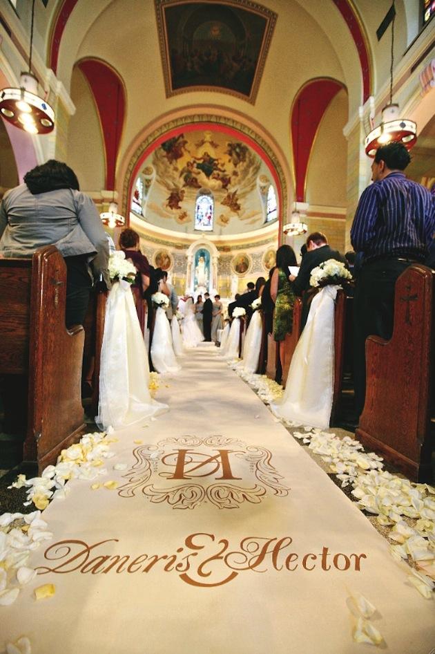 Custom Aisle Runners for Weddings - Original Runner Company - Inside ...