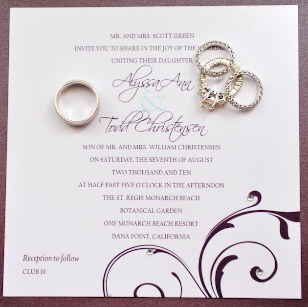 Wedding Invitations Wedding Invitation Wording Inside Weddings