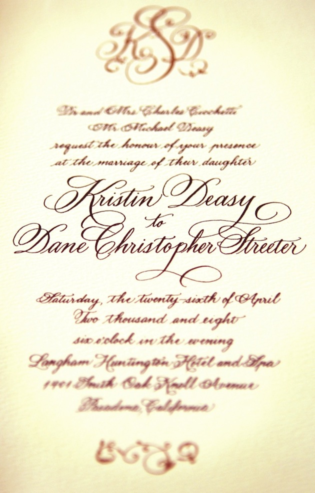 Wedding Invitations - Wedding Invitation Wording - Inside Weddings