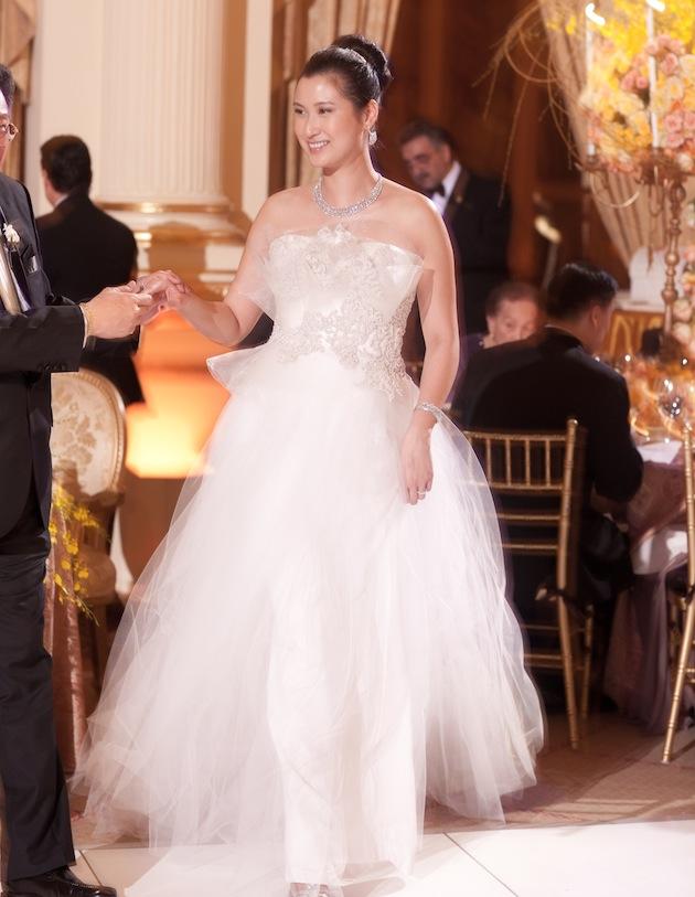 change wedding dress for reception