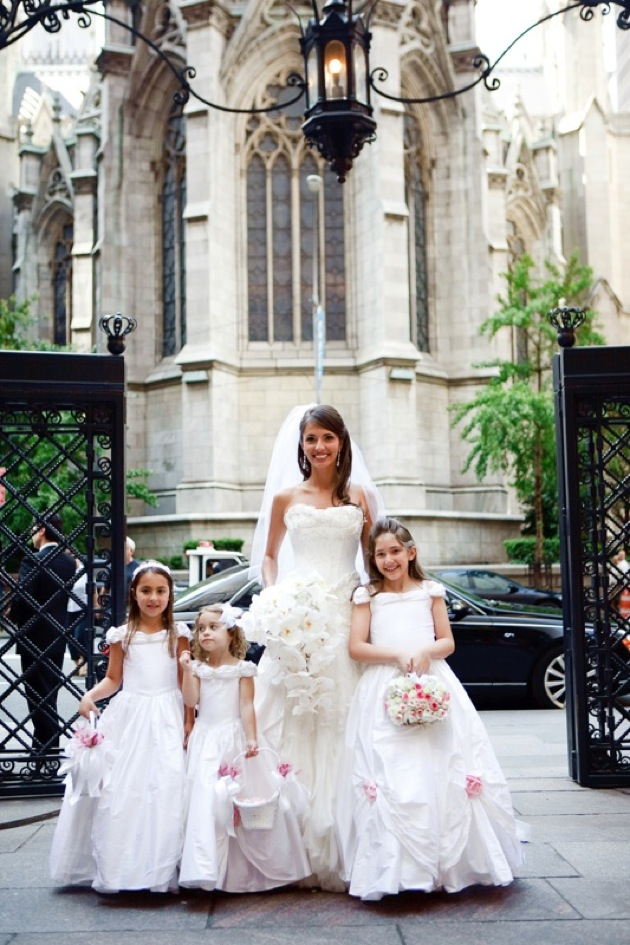 wedding pictures of flower girls