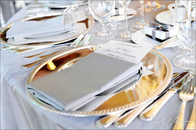 Silver and Gold Wedding Palettes - Wedding Themes - Inside Weddings