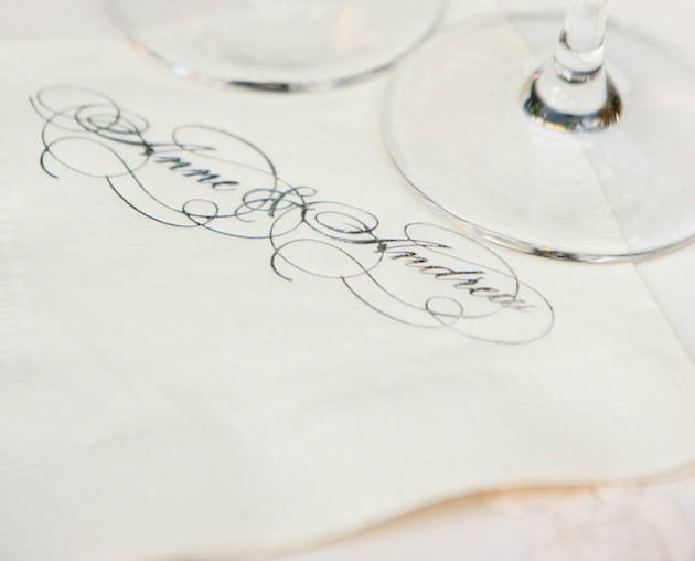 Customize Your Wedding Cocktail Napkins