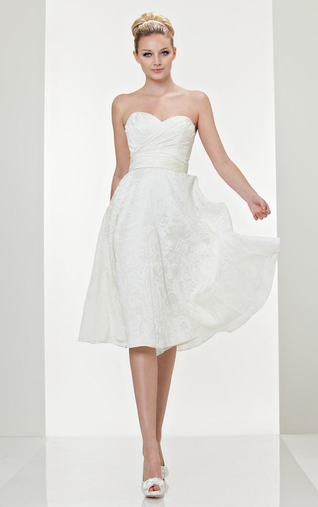 Short Wedding Dresses - Inside Weddings