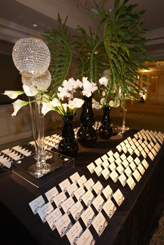 Ideas For Presenting Reception Seating Cards Ways To