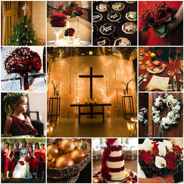 Incorporating Red Green In Every Room For The Holidays: Incorporating Holiday Cheer Into Your Wedding