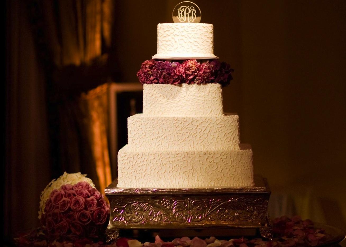 Square Wedding Cakes - Cake Ideas - Inside Weddings