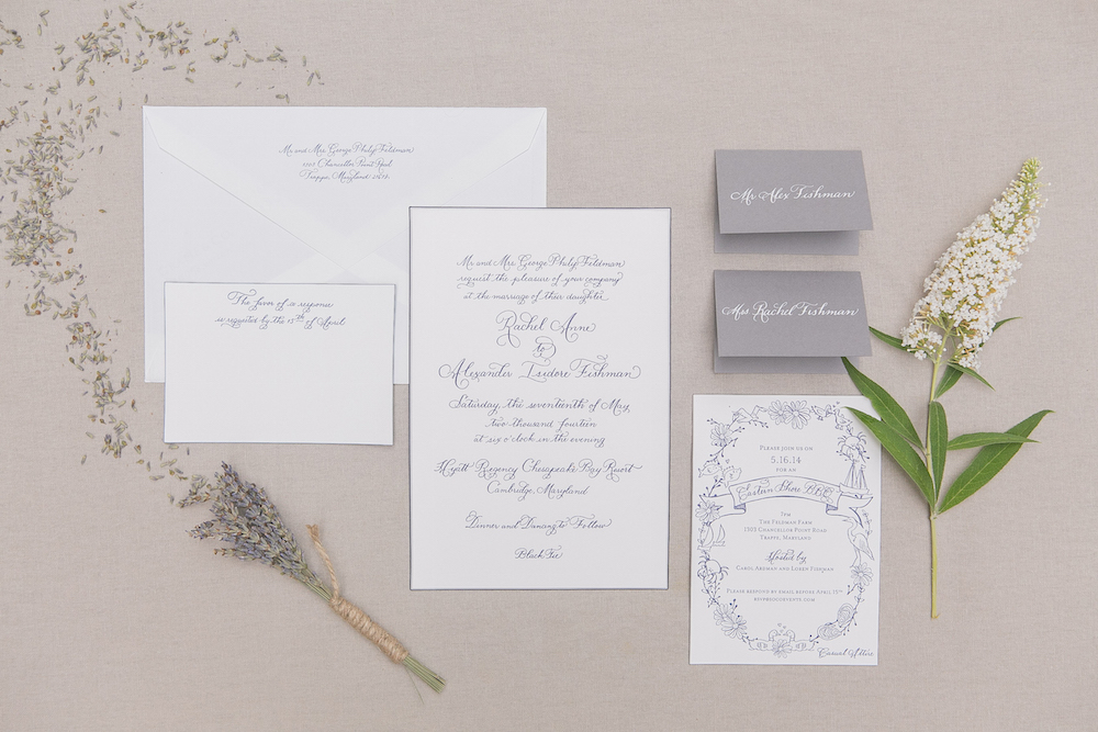 Laura Hooper Calligraphy - Wedding Invitation Must Haves - Inside ...