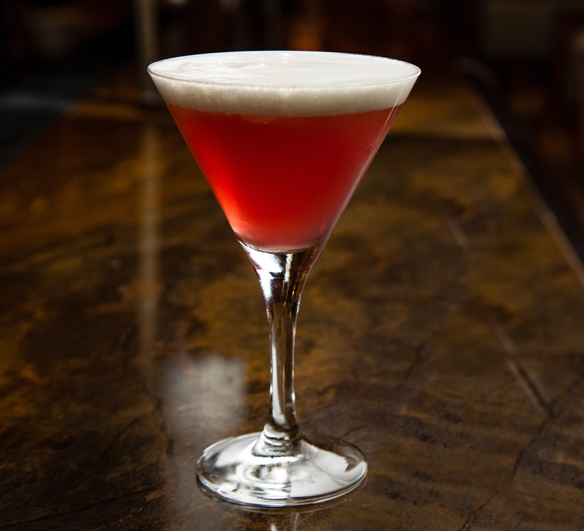 The Redhead Signature Cocktail Drink Recipe from The Breakers Palm Beach