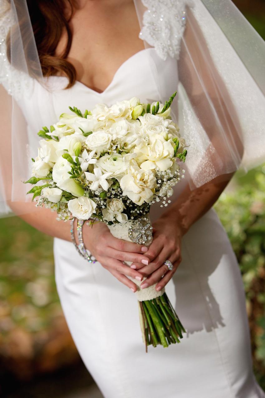 Wedding Flowers White Bouquets Inside Weddings