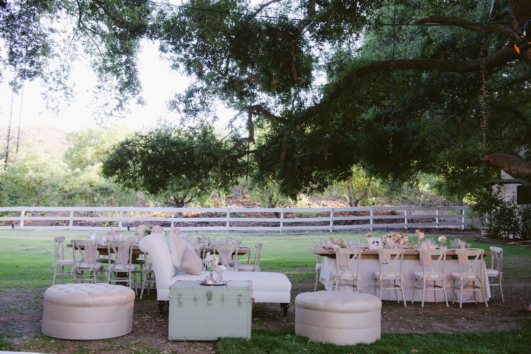 outdoor weddings inspiration for receptions without tents