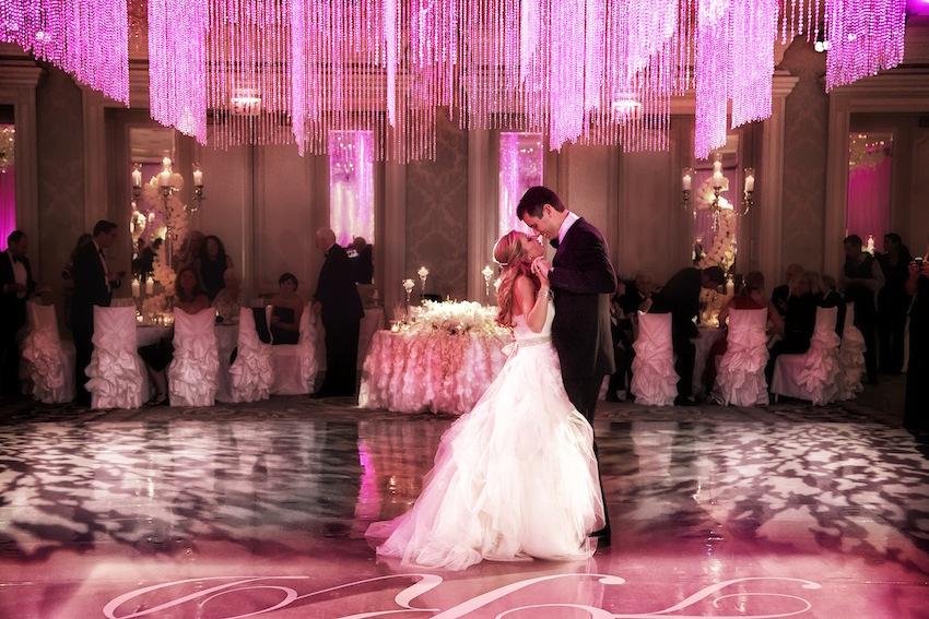 Pink Melshenker Chicago Wedding