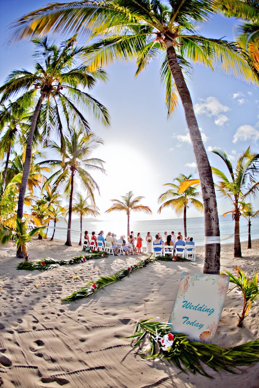 St Croix Wedding Venue On Beach